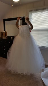 David's Bridal Nt8017 Wedding Dress