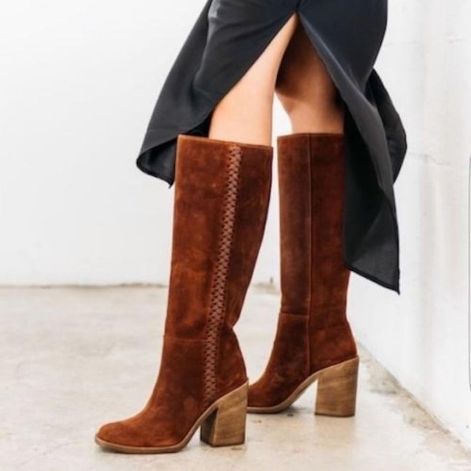 4bb03247ac9 UGG Australia Mahogany Maeva Suede Knee High Boots/Booties Size US 7  Regular (M, B) 51% off retail