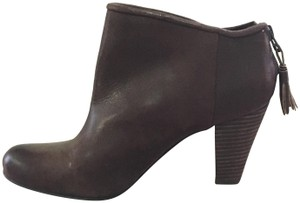 Hive & Honey Ankle Leather Tassle Brown Boots