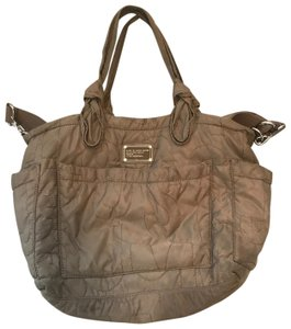 Marc Jacobs Taupe Diaper Bag