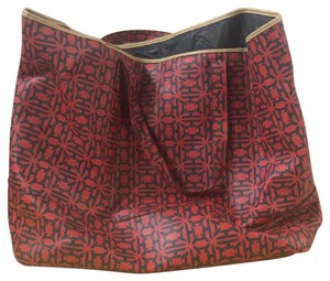 India Hicks Tote in Red Heritage