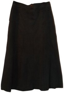 Signature by Larry Levine Maxi Skirt Black