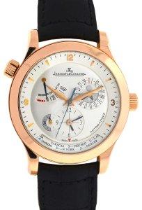 Jaeger-LeCoultre Jaeger Lecoultre 18k Rose Gold Master Control Geograph Watch