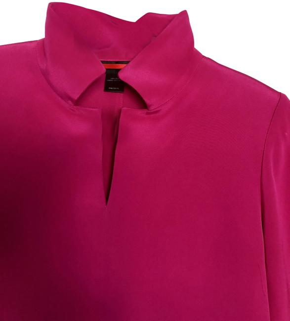 Item - Fuchsia Style Number 7270 4 Ply Silk Tunic Size 8 (M)