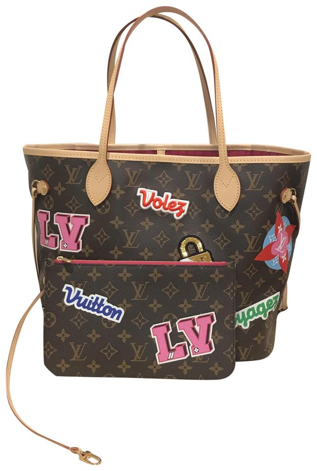 4271c4eff89d Louis Vuitton Neverfull Patches Patches Collection Patches 2018 Neverfull  Mm Tote in Monogram Image 0 ...