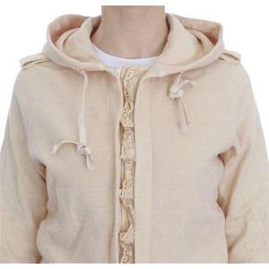 Ermanno Scervino D10099-1 Women's Lace Hooded Cardigan