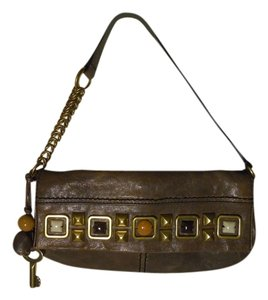 Fossil Leather Os Shoulder Bag