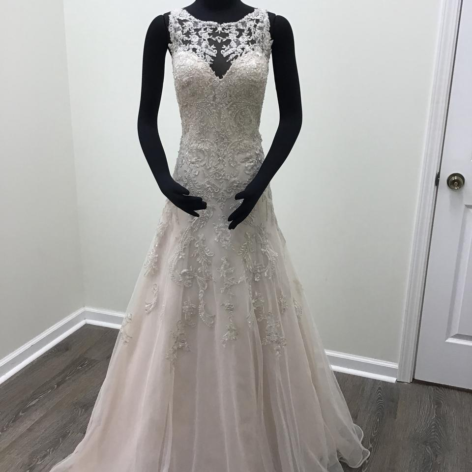 Non Traditional Fall Wedding Dresses: Stella York Ivory/Moscato/Java Lace Tulle Regency Organza