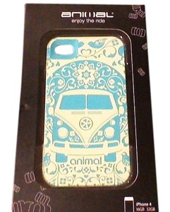 Animale iphone 4 Case Volks Wagon Bus Blue and White by Animal