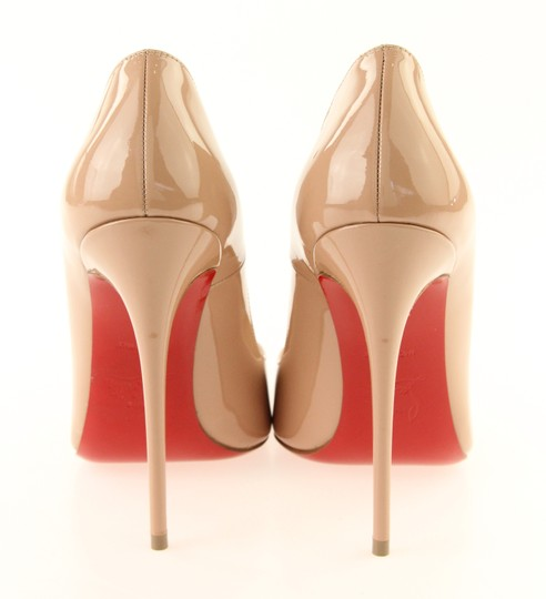2019 Christian Louboutin New Simple Pump 120 Nude Patent