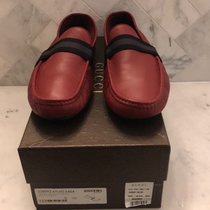 Gucci Red Nwb Loafer Shoes
