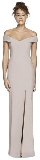 Item - Light Grey Collection Style 3012 Taupe Long Formal Dress Size 6 (S)