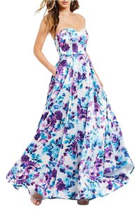Bee Darlin Empire Waist Sweetheart Strapless Fitted Dress
