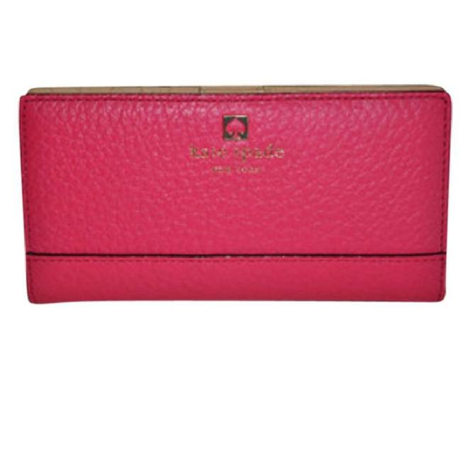Item - Pink and Gold Stacy Southport Avenue Wallet