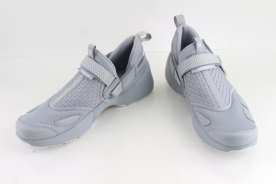 f6f6d02ff501c3 Nike Gray Air Jordan Canvas Trunner Lx Sneakers Shoes Image 0 ...