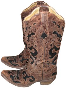 Corral Boots Brown,Black Boots