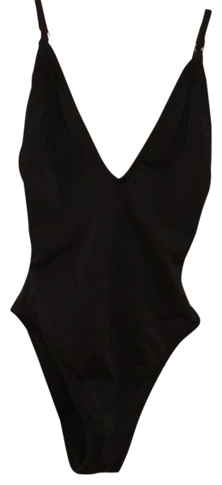 092ed698a5 Black So Chic One-piece Bathing Suit Size 4 (S) - Tradesy