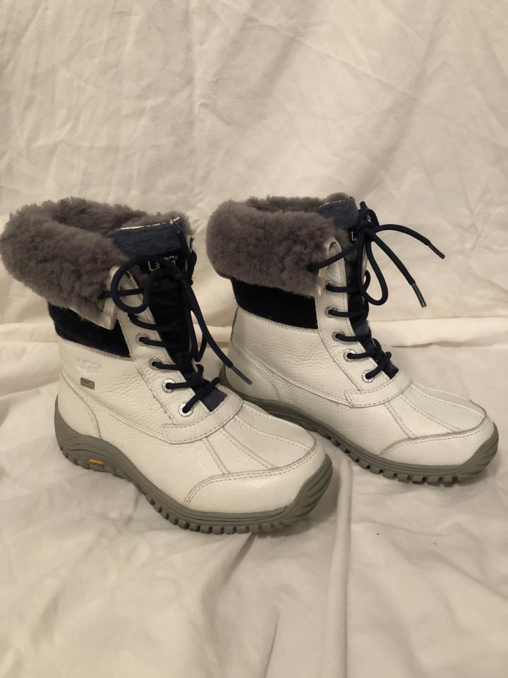 711eec60551 UGG Australia White Women's Adirondack Ii Waterproof Leather Hiker 1013505  Boots/Booties Size US 7 Regular (M, B) 51% off retail