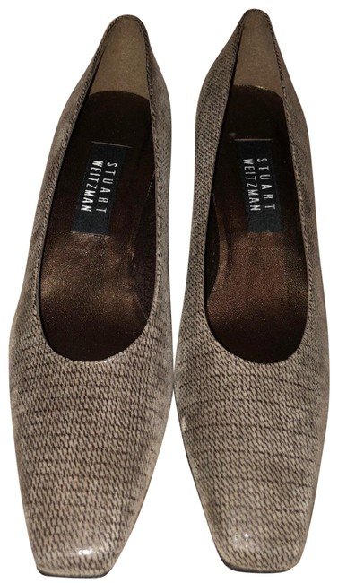 Item - Brown Jenny Taupe Nappa Sw147 Pumps Size US 8.5 Narrow (Aa, N)