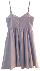 Lucca Couture short dress Blue an White on Tradesy