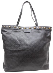 Gucci Studded Shopper Marmont Sylvie Soho Tote in Brown