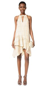 Parker short dress Ivory on Tradesy