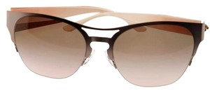 f7a708800c58 Tory Burch TY6065-325411-56 Women's Rose Gold Frame Brown Lens Sunglasses