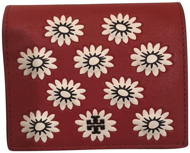 Item - Red Navy White Primrose Mini Wallet
