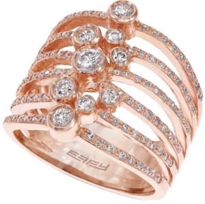 EFFY lmt. edition pave diamond bezel ring