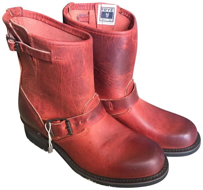 Item - Burnt Red 77500 Boots/Booties Size US 8 Regular (M, B)