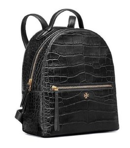 Tory Burch Leather Croc Fall Winter Backpack