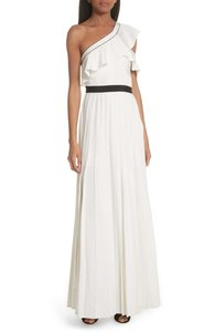 white Maxi Dress by self-portrait