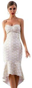 DIOR BELLA Cocktail Special Occasion Wedding Lace White Dress