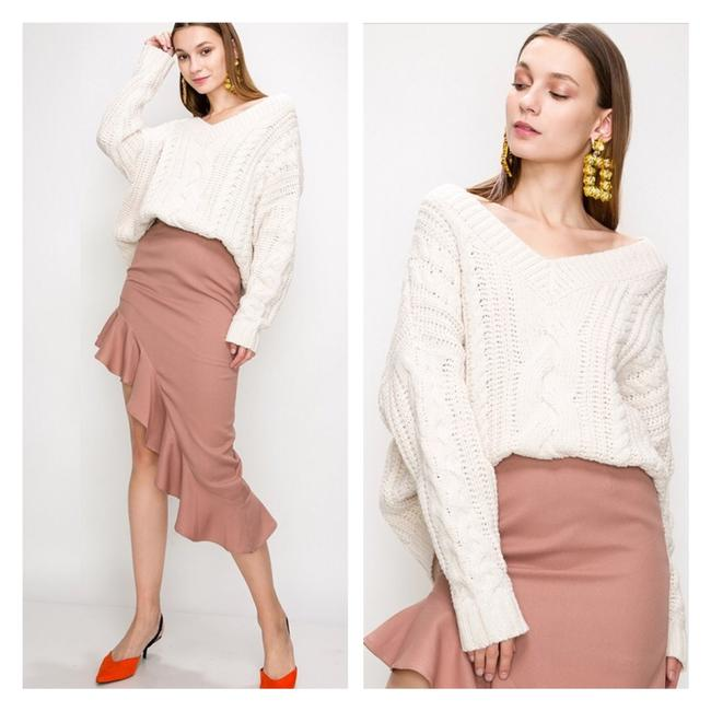 FavLux Oversized Chunky Cable Knit Sweater FavLux Oversized Chunky Cable Knit Sweater Image 1