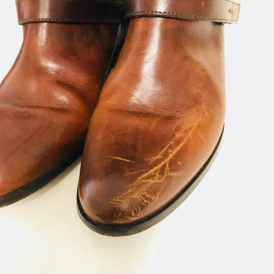 Golden Goose Deluxe Brand Charlye Leather Brown Boots