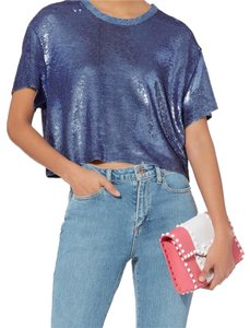 IRO Top washed blue