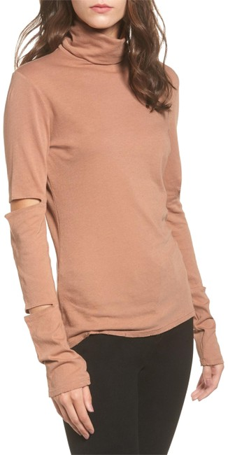 Item - Nude Easton Cutout Sleeve Tee Shirt Size 12 (L)