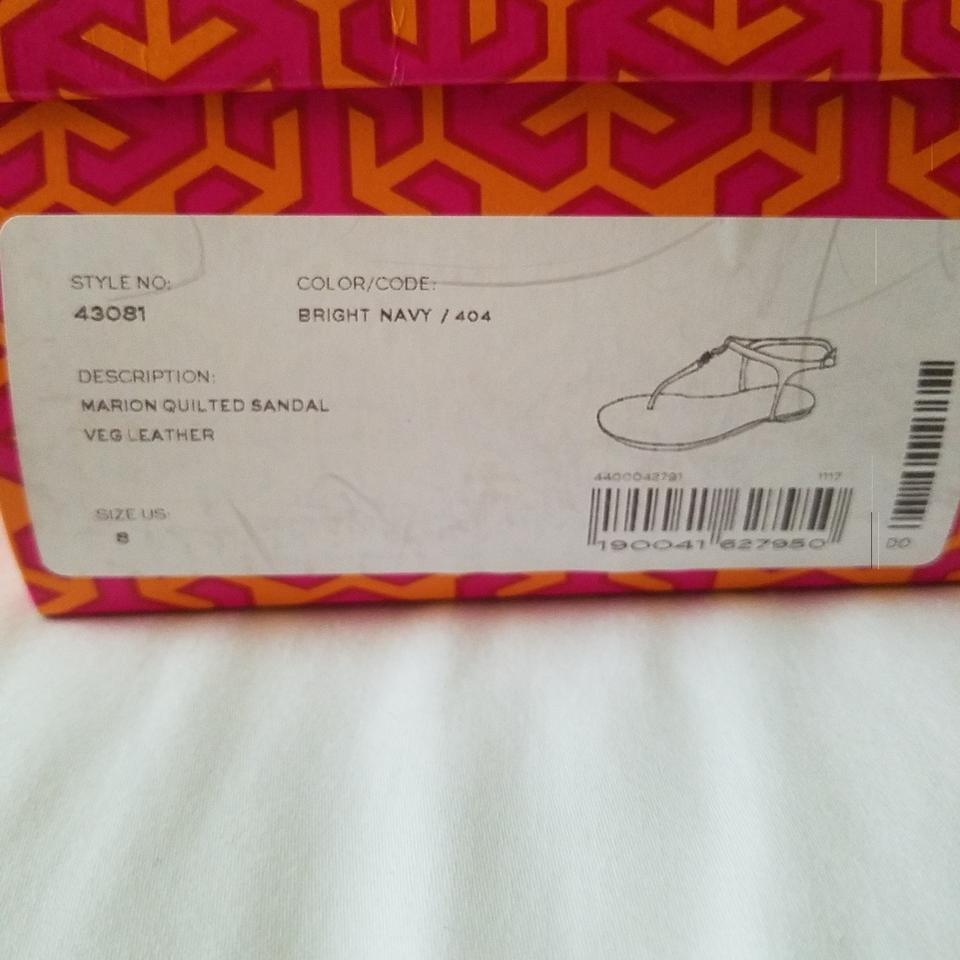 25c4bfe322df Tory Burch Marion Quilted  43081 Sandals Size US 8 Regular (M