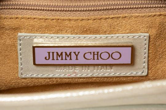 Jimmy Choo Wristlet in metallic