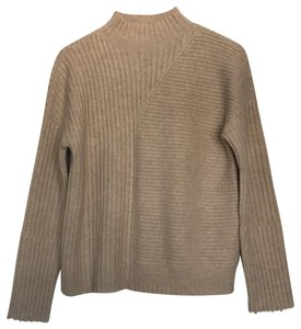 INTERMIX Cabled Crew Neck Sweater