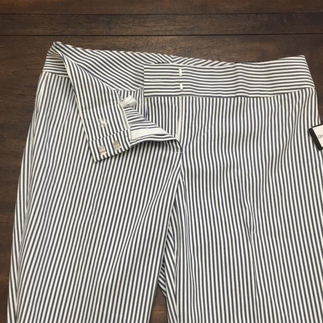 Nine West Straight Pants White and Blue