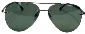 Ray-Ban RB8058 large aviator sunglasses