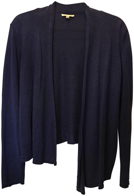 Preload https://img-static.tradesy.com/item/24061604/eileen-fisher-blue-cardigan-size-petite-12-l-0-1-650-650.jpg