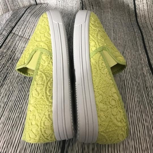 Dollhouse Embroidered Green Flats