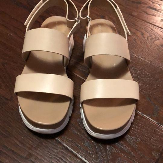 Cole Haan Nude with white soles Sandals