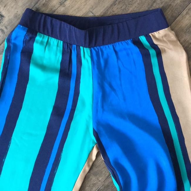 Miami Local Designer Silk Bell Colorful Size Xs Flare Pants