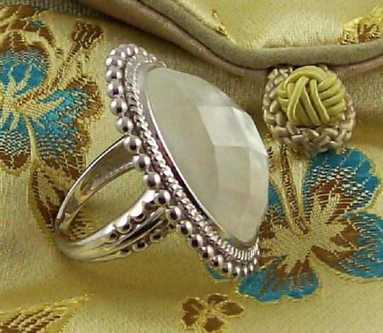 Honora Honora Mother-of-Pearl Faceted Doublet Sterling Ring