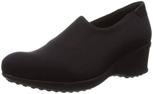 La Canadienne Black Wedges