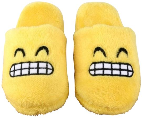 Preload https://img-static.tradesy.com/item/24061731/yellow-grinning-slippers-new-02-3839-length-10-flats-size-eu-38-approx-us-8-regular-m-b-0-1-540-540.jpg