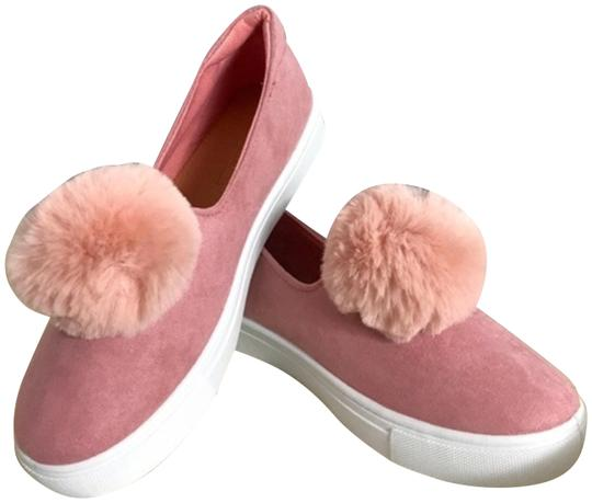 Preload https://img-static.tradesy.com/item/24061763/pink-pom-pom-slip-on-sneakers-flats-size-us-6-regular-m-b-0-1-540-540.jpg
